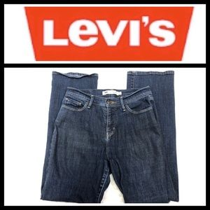 Levi's perfectly slimming high rise bootcut Jeans